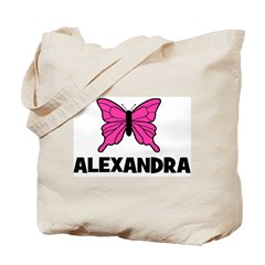 Butterfly - Alexandra Tote Bag