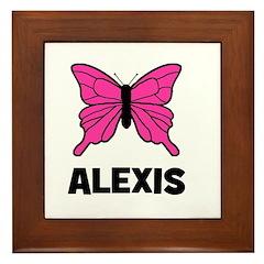 Butterfly - Alexis Framed Tile