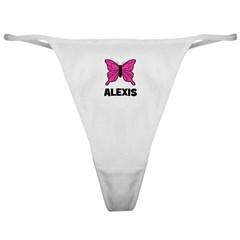 Butterfly - Alexis Classic Thong