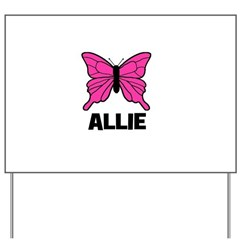 Butterfly - Allie Yard Sign