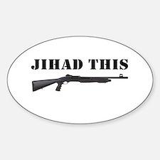 Jihad This Decal