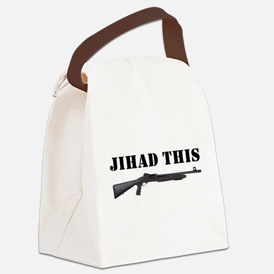 Jihad This Canvas Lunch Bag