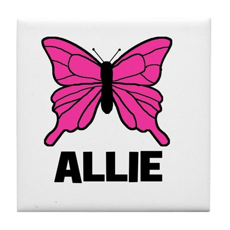 Butterfly - Allie Tile Coaster