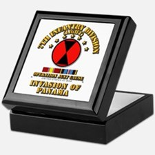 Just Cause - 7th Infantry Division w Keepsake Box