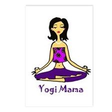 Yogi Mama Postcards (Package of 8)