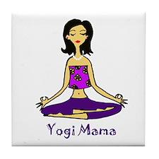 Yogi Mama Tile Coaster