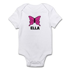 Butterfly - Ella Infant Bodysuit
