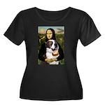 Mona / Saint Bernard Women's Plus Size Scoop Neck