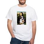 Mona / Saint Bernard White T-Shirt