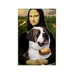 Mona / Saint Bernard Rectangle Magnet (10 pack)