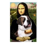 Mona / Saint Bernard Postcards (Package of 8)
