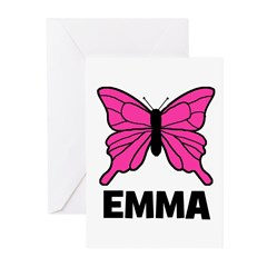 Butterfly - Emma Greeting Cards (Pk of 20)