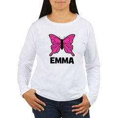Butterfly - Emma Women's Long Sleeve T-Shirt