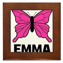 Butterfly - Emma Framed Tile