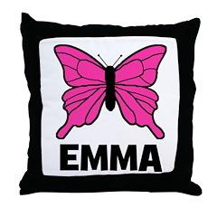 Butterfly - Emma Throw Pillow