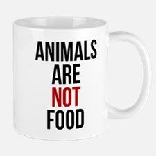 Animals Are Not Food Mugs