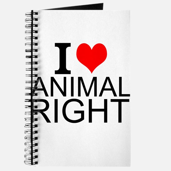I Love Animal Rights Journal