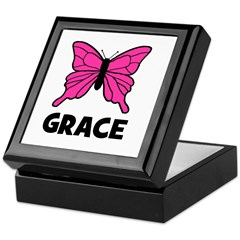 Butterfly - Grace Keepsake Box
