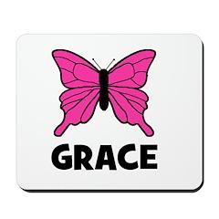 Butterfly - Grace Mousepad