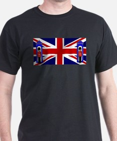 Union Jack With Guards T-Shirt