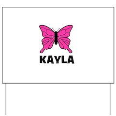 Butterfly - Kayla Yard Sign