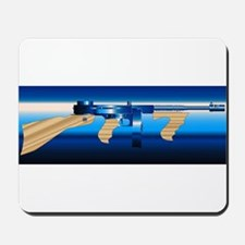 Gangsters Tommy Gun Mousepad
