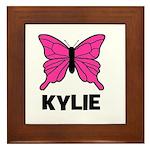 Butterfly - Kylie Framed Tile