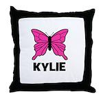 Butterfly - Kylie Throw Pillow