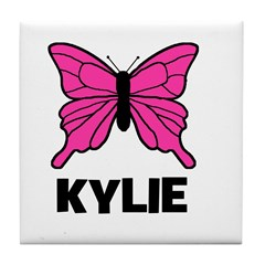 Butterfly - Kylie Tile Coaster
