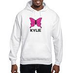 Butterfly - Kylie Hooded Sweatshirt