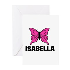 Butterfly - Isabella Greeting Cards (Pk of 20)