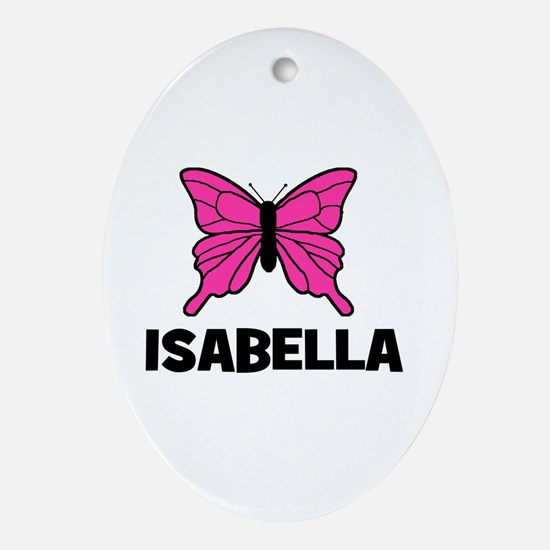 Butterfly - Isabella Oval Ornament