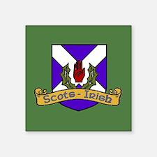 Scots-Irish crest Sticker