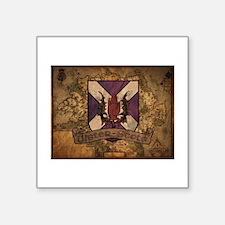 antique Ulster Scots shield Sticker