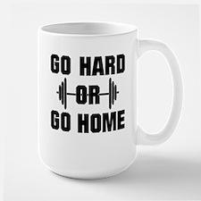 Go Hard or Go Home Workout Mugs