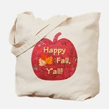 Happy Fall Y'all Pumpkin Tote Bag