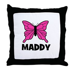 Butterfly - Maddy Throw Pillow
