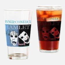 Hamlet Inner Conflict Drinking Glass