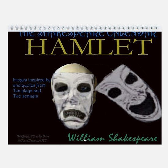 Shakespeare Posters and gifts Wall Calendar
