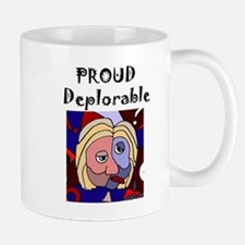 Proud Deplorable Political Art Mugs