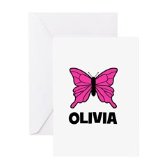 Butterfly - Olivia Greeting Card