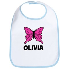 Butterfly - Olivia Bib