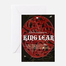 King Lear Quote Greeting Card