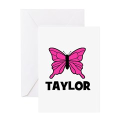 Butterfly - Taylor Greeting Card