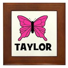 Butterfly - Taylor Framed Tile