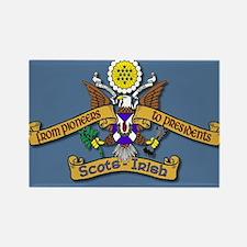 Scots-Irish great seal of USA Magnets