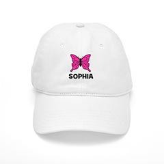 Butterfly - Sophia Baseball Cap