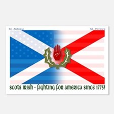 Scots-Irish - fighting fo Postcards (Package of 8)