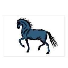 Baroque Horse Woodblock Postcards (Package of 8)