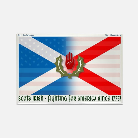 Scots-Irish - fighting for america Magnets